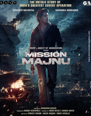 First Look Of The Movie Mission Majnu