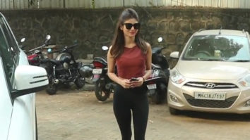 Mouni Roy spotted at a dance rehearsal hall Andheri