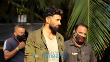 On The Sets Of The Movie Om: The Battle Within