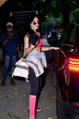 Photos: Amyra Dastur spotted at dance class
