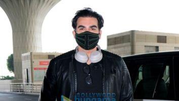 Photos: Arbaaz Khan, Shirley Setia and Maheep Kapoor snapped at the airport