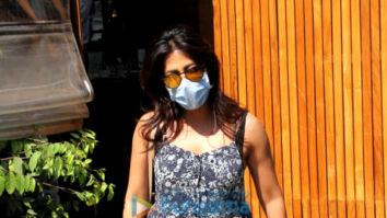Photos: Chitrangda Singh spotted outside at Silver Beach Cafe, Juhu