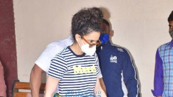 Photos: Kangana Ranaut spotted at Pilates