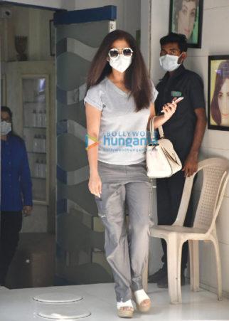 Photos: Urmila Matondkar spotted outside a salon