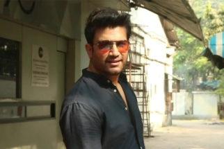 Sharad Kelkar spotted at Sound Ideaz studio in Andheri