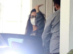 Shraddha Kapoor spotted at Luv Ranjan's office in Juhu