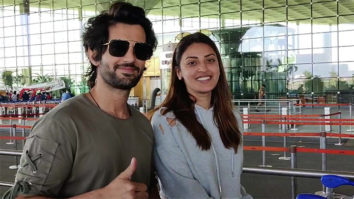 Spotted - Aditya Seal with Anushka Ranjan and Akansha Singh at Airport