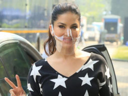 Sunny Leone spotted at Springs, Island City Center