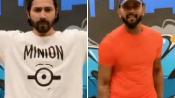 Varun Dhawan grooves to the beats of 'Husnn Hai Suhaana' from Coolie No. 1 with Suresh Mukund of KING's United fame