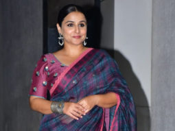 Vidya Balan spotted at her office in Bandra