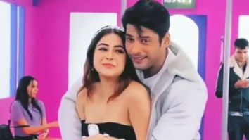 WATCH Shehnaaz Gill can't stop blushing after Sidharth Shukla gives her a hug in this BTS video of 'Shona Shona'