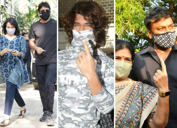 GHMC Elections 2020: Nagarjuna, Vijay Deverakonda, Chiranjeevi and other Telugu stars cast their vote