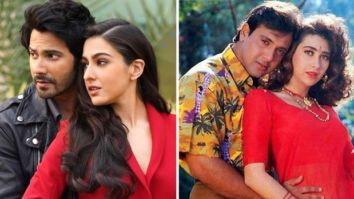 Sara Ali Khan says she did not try to get into the shoes of Karisma Kapoor for Coolie No. 1, says comparisons are inevitable