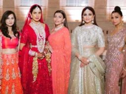 Parineeti Chopra shares a picture of 'Queen' Priyanka Chopra Jonas posing with her bridesmaids