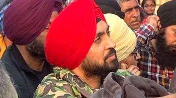 Diljit Dosanjh donates Rs. 1 crore to buy warm clothes for farmers protesting at Delhi border