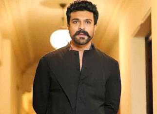 Ram Charan looks classy as he opts for an indo-western outfit for Niharika Konidela's sangeet ceremony