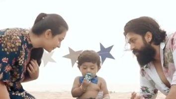 Inside Yash and Radhika Pandit's son Yatharv's lavish first birthday party; watch