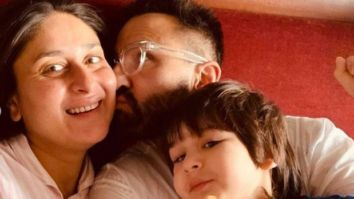 Kareena Kapoor, Saif Ali Khan and Taimur end the year with some 'snuggling and cuddling'