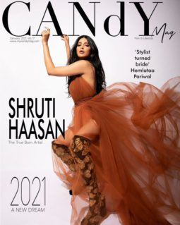 Shruti Haasan On The Covers Of Candy Mag
