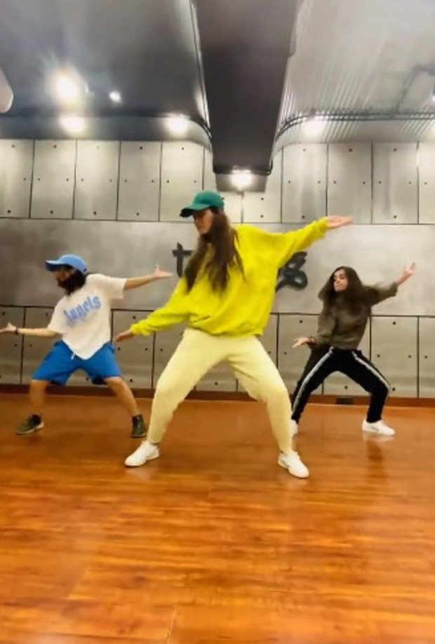 Disha Patani impresses with her groovy moves on Saweetie's viral song 'Tap In'