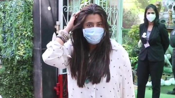 Ekta Kapoor spotted at clinic Bandra