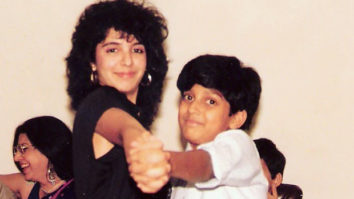 Farah Khan gets nostalgic as she shares a major throwback picture with cousin Farhan Akhtar from their childhood
