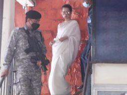 Kangana Ranaut leaves Bandra Police Station
