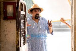 On the sets of the movie Mumbaikar