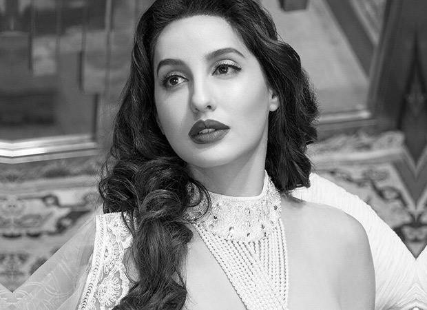 Nora Fatehi channels old school Bollywood charm donning Abu Jani and Sandeep Khosla attire