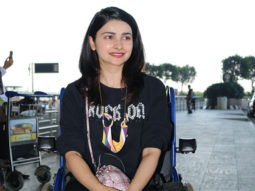 PICTURES Here's the reason why Prachi Desai was spotted in a wheelchair at the airport
