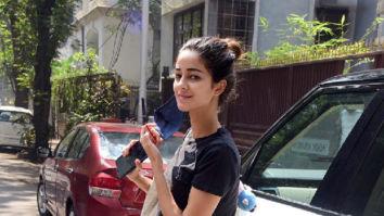Photos: Ananya Panday spotted at Anshuka Yoga in Bandra