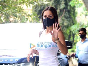 Photos: Malaika Arora snapped in Bandra