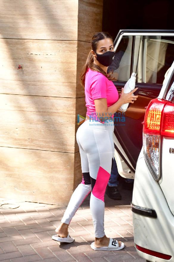 Photos: Malaika Arora spotted at Diva Yoga studio
