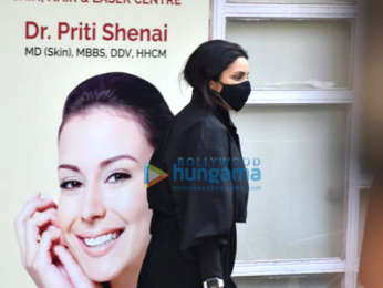 Photos: Parineeti Chopra spotted at a skin clinic in Juhu