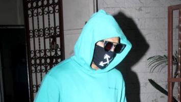 Photos: Ranveer Singh spotted at Shankar Mahadevan's dubbing studio in Bandra