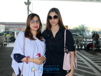 Photos: Saiee Manjrekar snapped at the airport