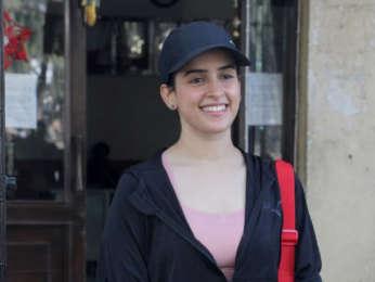 Photos: Sanya Malhotra spotted in Santacruz