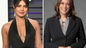 """""""Welcome to the club, America"""" - says Priyanka Chopra on The Late Show With Stephen Colbert when asked about US Vice President Kamala Harris"""