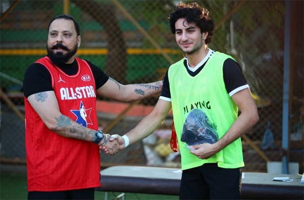 सैफ अली खान के बेटे इब्राहिम अली खान रणबीर कपूर, अभिषेक बच्चन, अर्जुन कपूर के ऑल स्टार्स फुटबॉल क्लब में शामिल
