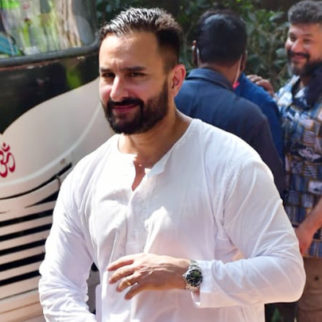 Saif Ali Khan and Arjun Kapoor spotted on-location shoot in Bandra