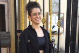 Sanya Malhotra spotted at Gym Khar