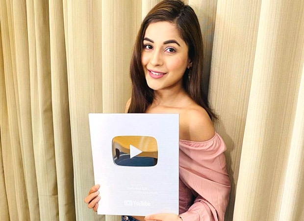 Shehnaaz Gill receives the Silver Play Button from YouTube, promises to make more entertaining content : Bollywood News – Bollywood Hungama