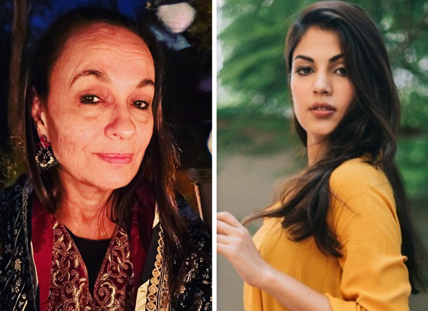 """Soni Razdan stands in support of Rhea Chakraborty; questions, """"Why won't anyone work with her?"""""""