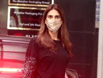 Vaani Kapoor Snapped in Bandra