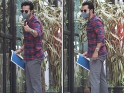 Varun Dhawan follows the classic flannel trend during his latest appearance ahead of his wedding to Natasha Dalal