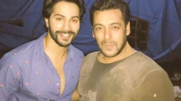 Varun Dhawan to shoot a song with Salman Khan for Antim