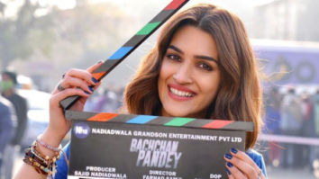 Kriti Sanon counts all her firsts as she begins shoot for Bachchan Pandey in Jaisalmer