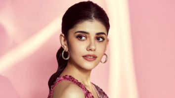 Sanjana Sanghi looks radiant and redefines bling in her latest saree pictures