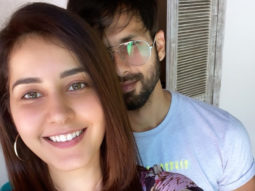 Shahid Kapoor welcomes Raashi Khanna on board Raj and DK's web series