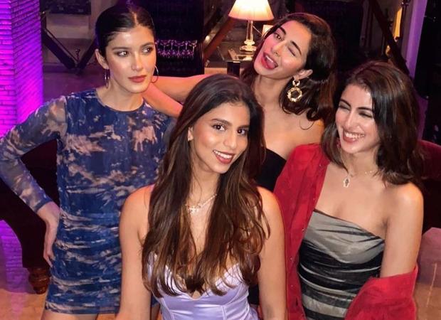 Ananya Panday shares then and now pictures with Suhana Khan, Shanaya Kapoor and Navya Naveli Nanda